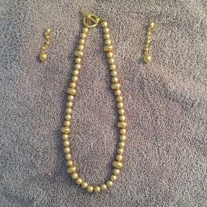 Anne Klein Necklace/Earring set